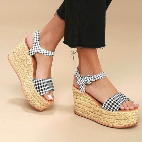 df0439a8f6 Dolce Vita Shoes | Dane Espadrille Platform Wedge Sandals | Poshmark